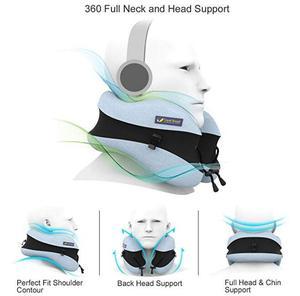 Image 4 - Oreiller en forme de U pour le cou en mousse à mémoire de forme, accessoires de voyage, oreiller confortable pour dormir, Textile domestique, 5 couleurs