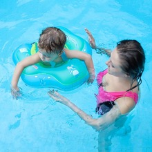 Inflatable Baby Swimming Ring Infant Armpit Floating Kids Swim Pool Accessories Circle Bathing Double Raft Rings Toy