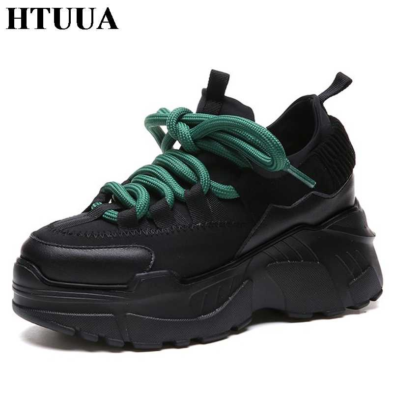 5cc47669c5c ... HTUUA 2018 Spring Autumn Women Casual Shoes Comfortable Platform Shoes  Woman Sneakers Ladies Trainers chaussure femme ...