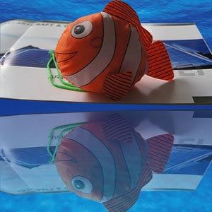 Image 4 - Mới 7 Màu Cá Nhiệt Đới Có Thể Gập Lại Sinh Thái Có Thể Tái Sử Dụng Nylon Túi Đựng Đồ Cỡ Lớn 38 Cm X 58 Cm