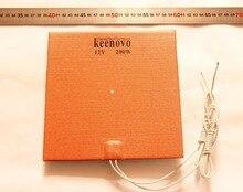 200mmX200mm,200W@12V, w/ 3M PSA, Keenovo Silicone Heater 3D Printer Heater,Heatbed, First Grade Quality Guaranteed