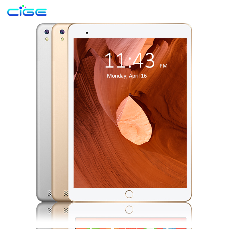 CIGE 10.1 Inch Original 3G Phone Call Android 7.0 Octa Core Tablet pcs 64GB ROM 4GB RAM  ...