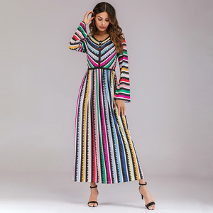 abayas for women muslim long abaya beautiful muslim dresses Middle Eastern Long Dress Loose Islam Jilbab Dress Y618