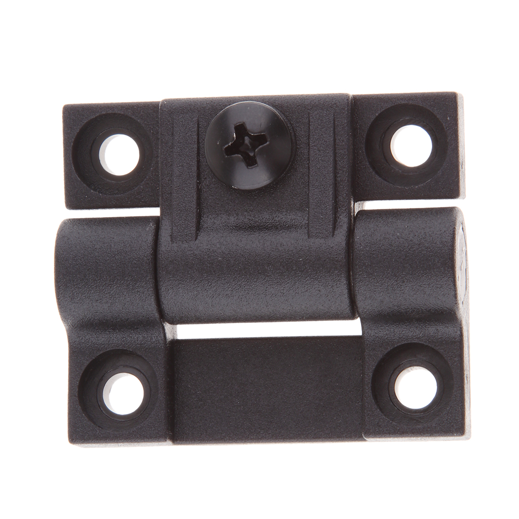 1.65 x 1.42 Inch 4 Countersunk Holes Adjustable Torque Position Control Hinge Black Door Hinges Replace For Southco E6-10-301-20