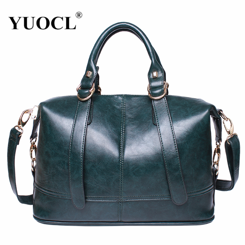 Luxury Leather Handbags Women Bags Designer Famou Brand Crossbody For 2018 Vintage Tote Shoulder Bolsa Feminina Sac A Main Mujer aitesen tote leather bag luxury handbags women messenger bags designer sac a main mochila bolsa feminina kors louis bags