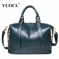 Luxury Leather Handbags Women Bags Designer Famou Brand Crossbody For 2018 Vintage Tote Shoulder Bolsa Feminina Sac A Main Mujer