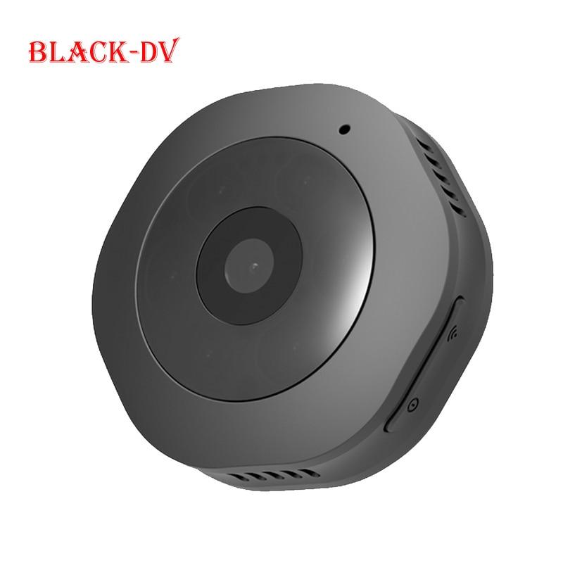 Спортивная камера Smarcent H6 для занятий спортом на открытом воздухе DV/wifi мини-камера wifi/DV 1080P микро портативная Магнитная портативная Невидимая камера - Цвет: Black-DV
