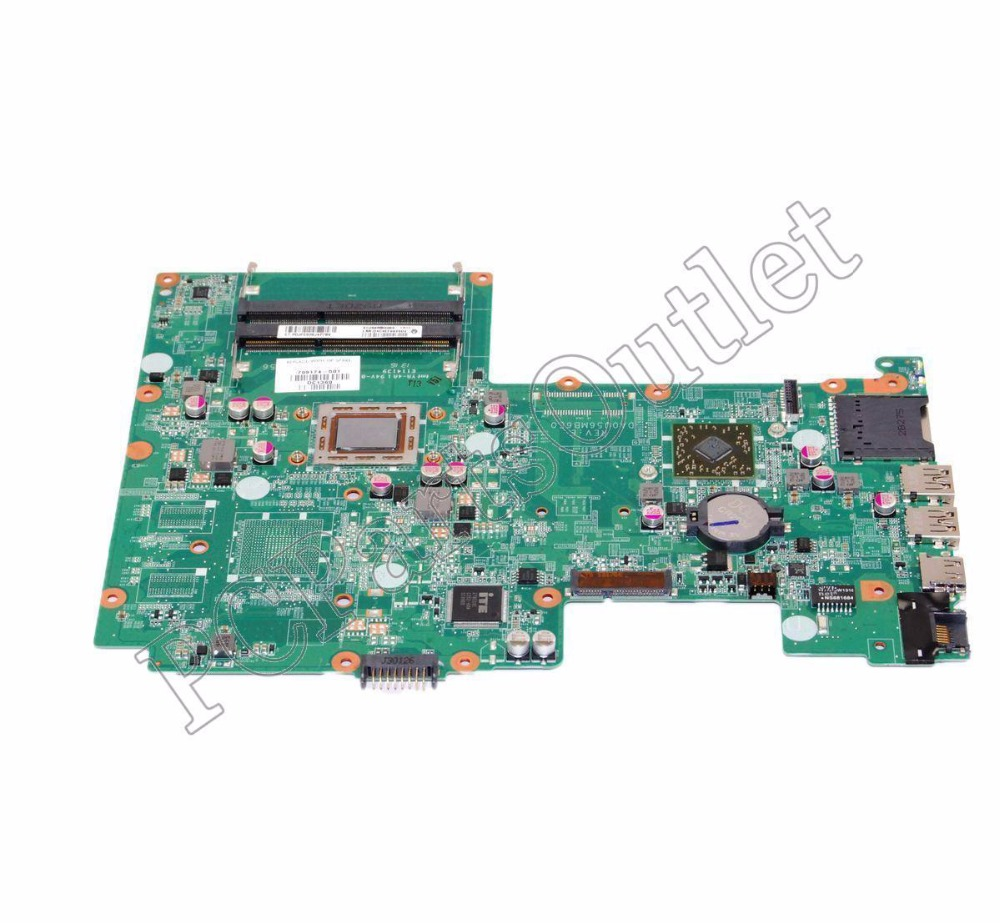 709174-501 709174-001 Free Shipping For HP Pavilion 15-B Laptop Motherboard Main Board DA0U56MB6E0 A6-4455M CPU DDR3