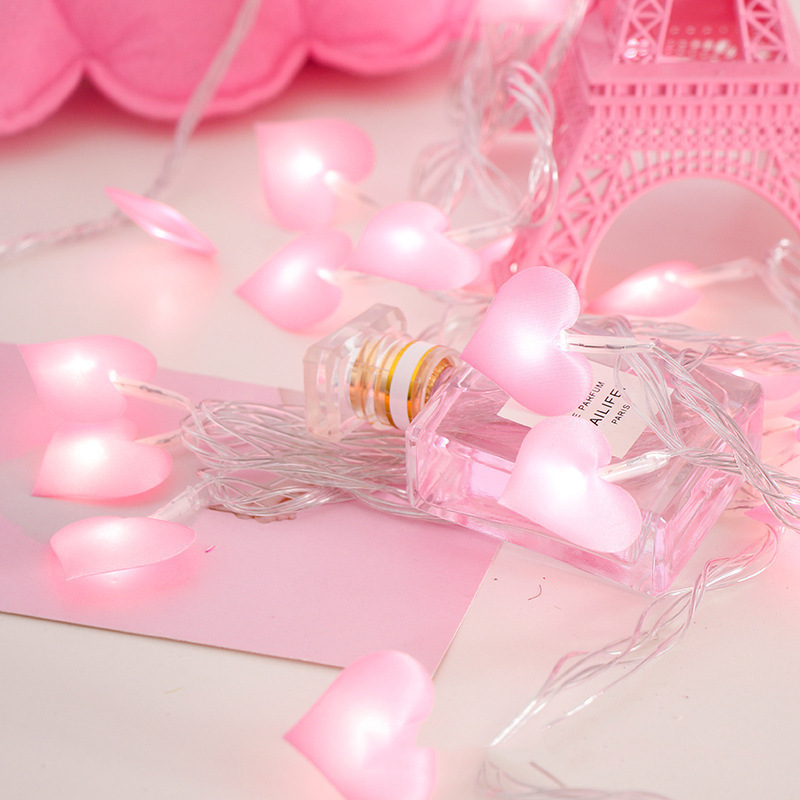 LBTFA 1M/3M Led Love Fairy String Decorative Lights Battery Operated Wedding New Year Christmas Outdoor Patio Garland Decoration