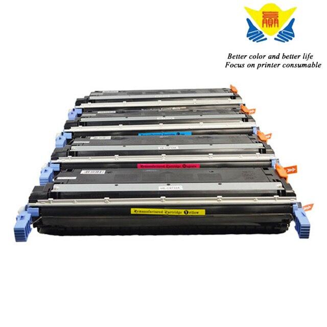 JIANYINGCHEN cartouche de Toner couleur Compatible C9720A C9721A C9722A C9723A remplacement pour imprimante laser HPs Laserjet 4600
