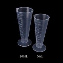 Cone School-Laboratory Measuring-Cup Scale Kitchen-Measure-Accessories Graduated Plastic