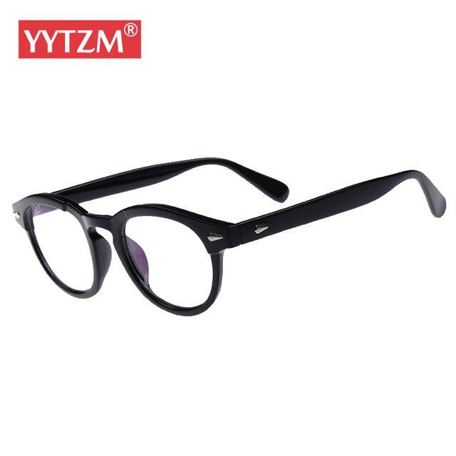 90c27c75d38 YYTZM Eyeglasses Classical Vintage women s Eye  Johnny Depp  glasses frame  for men oculos de grau feminino armacao de oculos