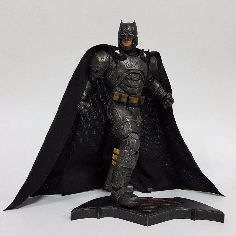 Batman Action Figure Bruce Wayne Justice League 12inch PVC Anime Movie Batman Heavily Armed Collectible Model Toy Superhero batman figure justice league artfx statue x men weapon x iron man bruce wayne action figure model collection toy