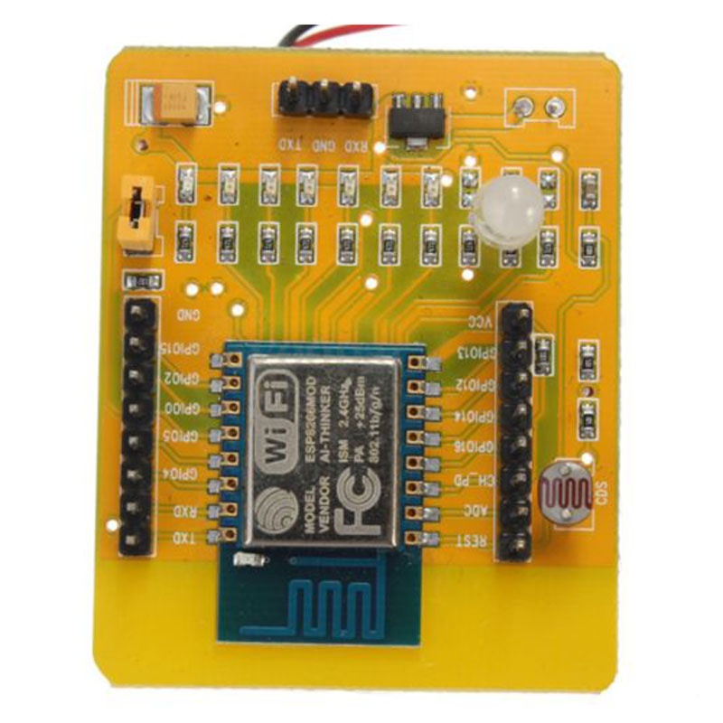 Image 4 - ESP8266 Serial WIFI Test Board Dev Kit Development Wireless Board Full IO Switch-in Replacement Parts & Accessories from Consumer Electronics