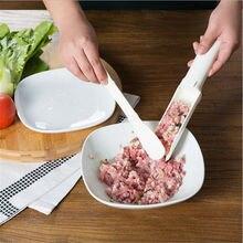 1 комплект, устройство для приготовления мясных шариков Еда-Класс Пластик удобная машина для пресс-форм для домашнего использования, полезно Пэтти фрикадельки рыбные фрикадельки гамбургер набор