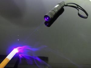 10000m 405nm alta potência focalizável violeta ponteiro laser azul/uv roxo laser tocha queimar fósforos & luz queimar cigarros