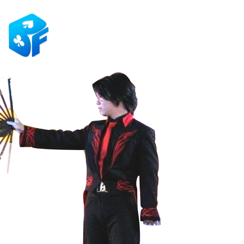 Tail Coat Magician's Costume Fans Umbrella Customized Clothes Magic Tricks