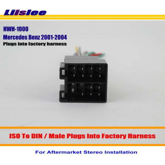 Amazing Online Shop Liislee For Benz C230 C240 C32 C320 Male Iso Radio Wiring Digital Resources Cettecompassionincorg