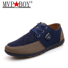 MVP BOY  Fashion High Quality Men's Casual Canvas Shoes Lace Up Flats Men Breathable Shoe Men Oxfords Superstar Shoes Size 39-45 male casual shoes high quality lace up oxfords men flats spring autumn breathable driving shoes aa30065