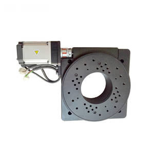 Rotary-Table Indexing-Plate MTS-HX200 Electric with 400W Servo-Drive High-Speed Hollow