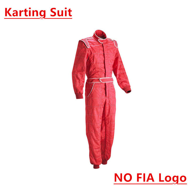 karting suit red