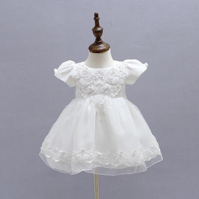 BBWONLIN Baby Girl Ristimine kleit 0-1 aastase sünnipäeva kleit - Beebiriided - Foto 4
