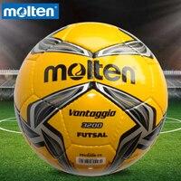 Original Molten F9V3200 Size 4 PU Match Ball Professional football soccer goal balls of football ball balon bola de futbol