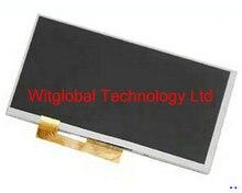 """Nueva Pantalla LCD de Matriz De 7 """"wize 3037 3g pmt3037 prestigio multipad tablet panel de la pantalla lcd de reemplazo de la lente envío gratis"""