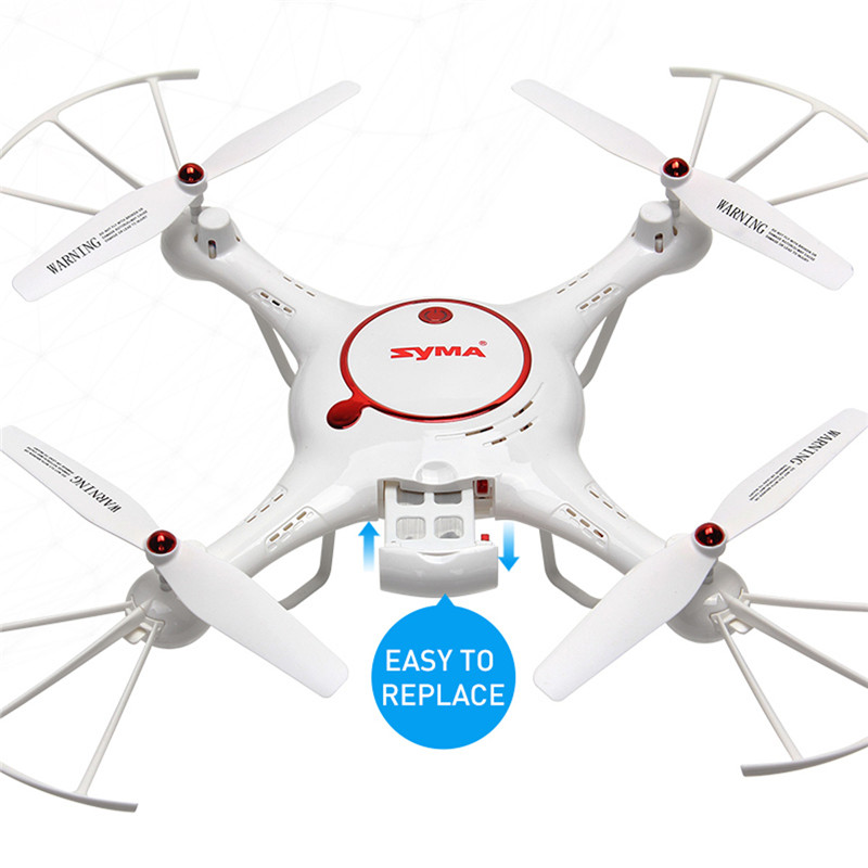 Drone X5UC RC Quadcopter 2.4G 4CH Hover Function Headless Mode 2.0MP HD Camera X5C Upgraded New Version jjr c jjrc h43wh h43 selfie elfie wifi fpv with hd camera altitude hold headless mode foldable arm rc quadcopter drone h37 mini