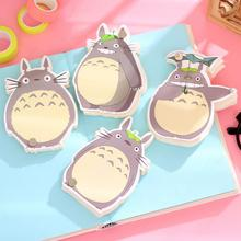 Novelty Cute My Neighbor Totoro Memo Pad Loose Leaf Notepad Mini Memo Notepad Bookmark School Office Supply Gift Statioery