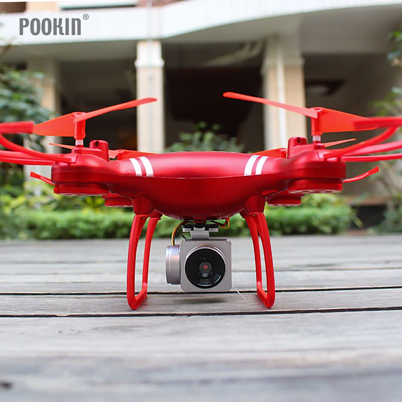 2.4GHz HD Camera Four Axis Aircraft Gyro UAV Wireless LED lighting Drone Aircraft Remote Control Remote Control Quadcopter Gift