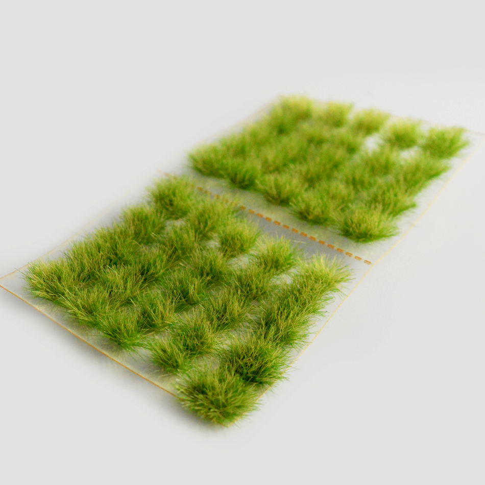 60pcs per box architecture scale model Grass Tuft needle grass bushes building materials