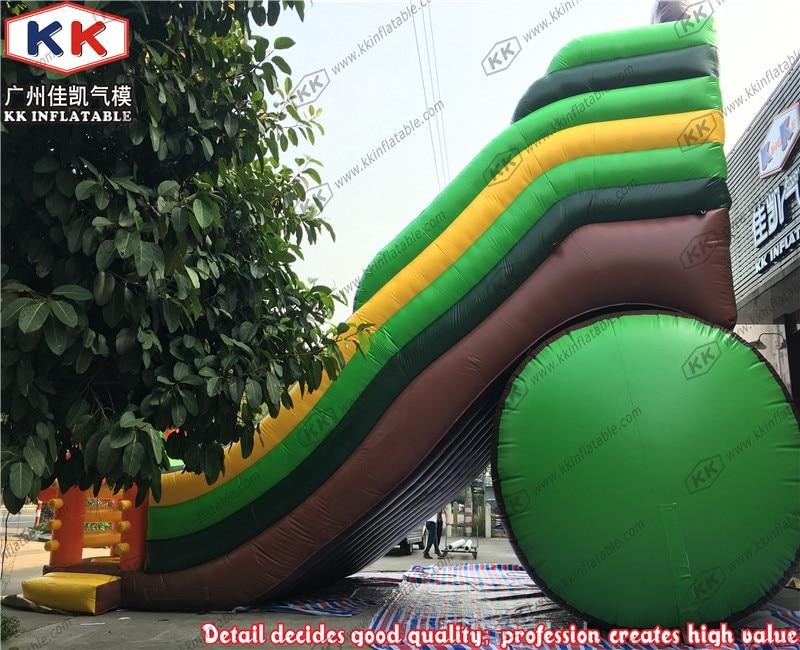 Крупнейший играть слайд игрушки Лидер продаж надувные сухой слайд большой горки для взрослых и детей