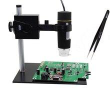 1000X электронный Микроскоп, Цифровой Микроскоп USB Профессиональный портативный крепление + Пинцет