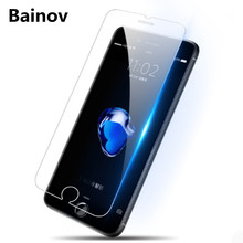 High quality ultra-thin protective glass for iphone 7 8 6 6s plus screen protector tempered glass on iphone x 8 7 6 6s 5 5s se