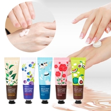 30g Plant /Fruit Extract Deep Nourishing Hand Lotion Natural Green Fruity Cream
