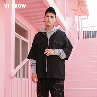 VIISHOW Men Shirt Mens Business Casual Shirts 2018 New Arrival Men Famous Brand Clothing Long Sleeve