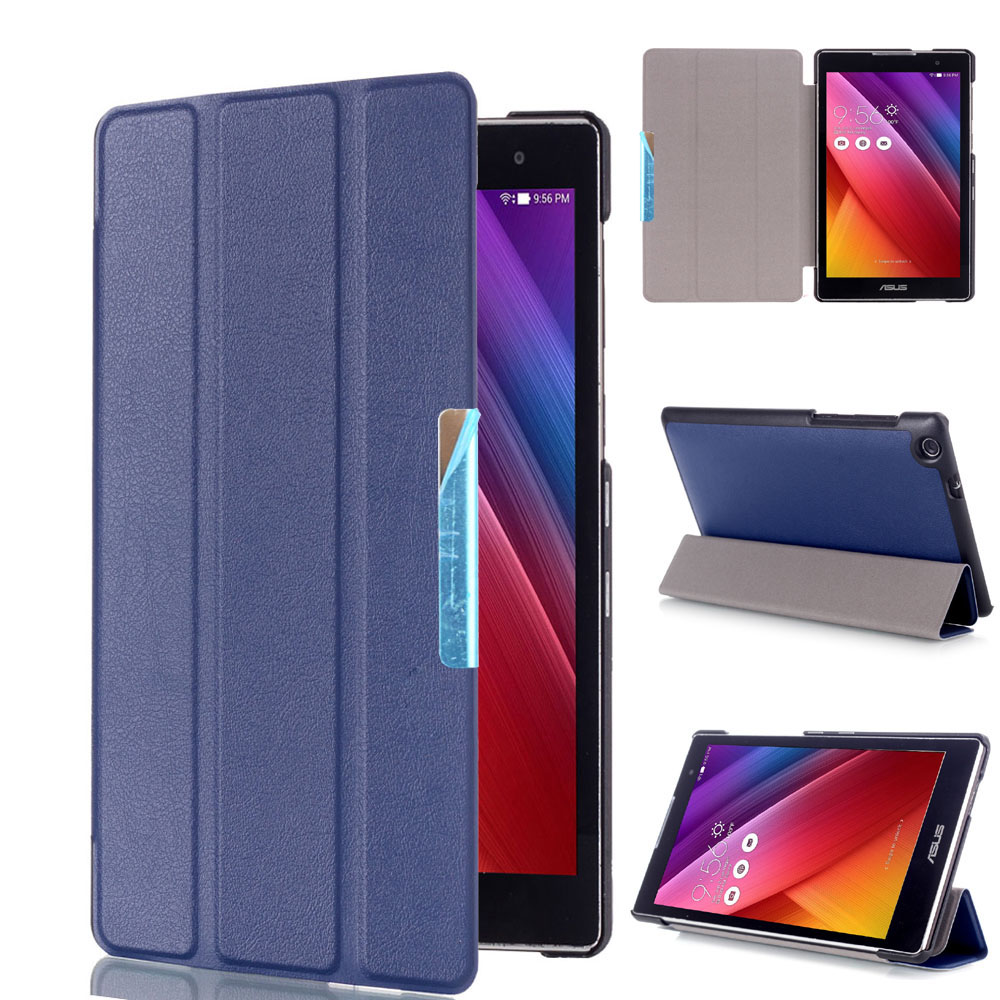 3 folding Magnetic stand Cover for Asus ZenPad C 7.0