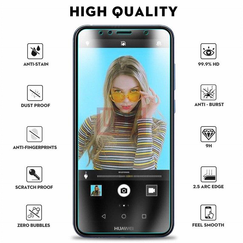2pcs Tempered Glass For Huawei Y5 Y6 Y7 Y9 Y3 2018 Prime Pro Protective Glass On HUAWEI Y3 II Y5 II Y6 II 2017 Screen Protector