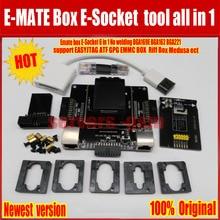 Новый E-MATE коробка эмате Box E-разъем 6 in1 без сварки BGA169E BGA162 BGA221 поддержка Медуза Pro Box/ UFI/ATF/легко JTAG разъем/RIFF Box