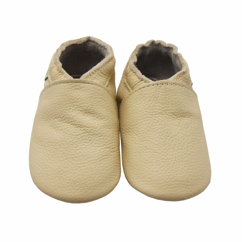 Sayoyo 100/% Leather Baby Shoes Infant Moccasins Soft Sole Toddler Walk Slippers