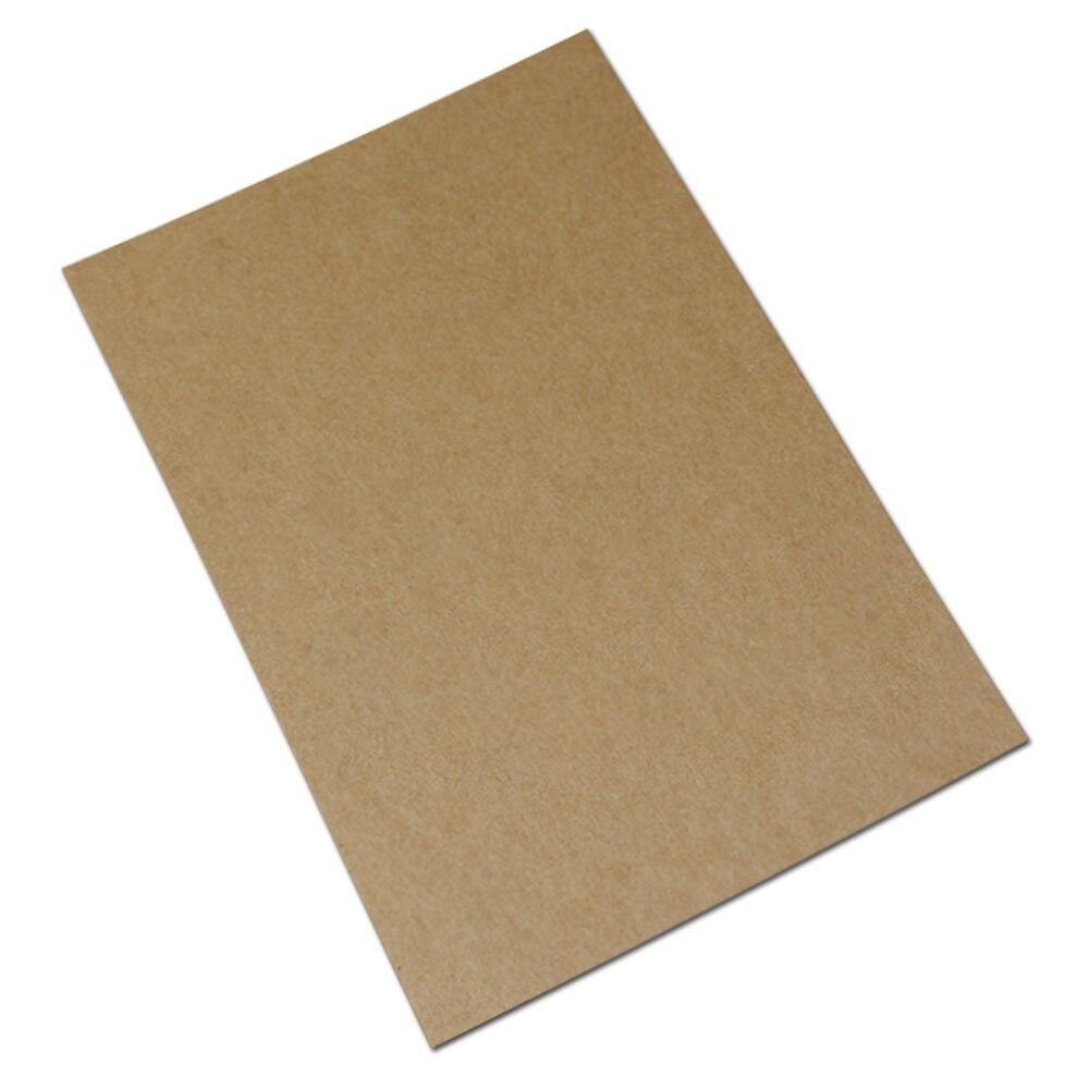 100 Adet / grup 6 * 10 cm Kalın Kraft Kağıt DIY Scrapbooking - Tatiller ve Partiler Için - Fotoğraf 6