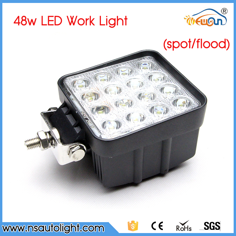 4.2 inch 48w led work light 12V led tractor work lights Spot beam offroad 4X4 ATV car Truck fog Lamp 48w led driving light 2pcs 36w 7 led light bar spot beam offroad driving light 12v 24v 4x4 truck for atv spotlight fog lamp