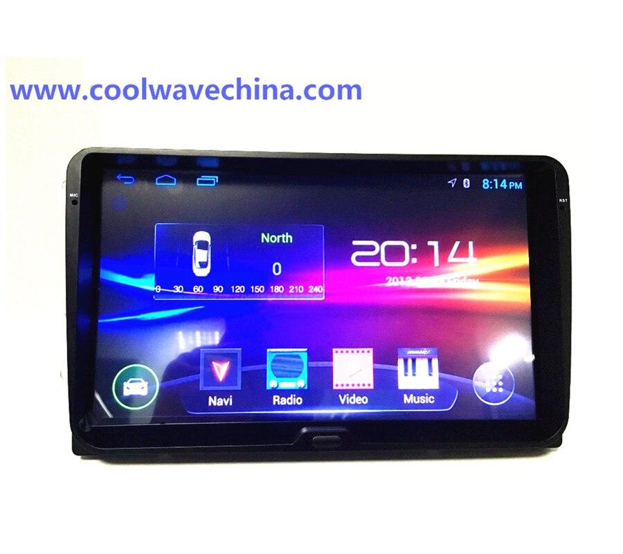 imágenes para Vw radio 9 pulgadas android Para Golf 5 6 Jetta Mk5 Mk6 Tiguan polo Passat CC Eos sharan 3G wifi bluttooth sin
