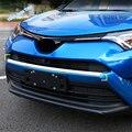 Lapetus ABS Авто Стайлинг Передняя Центральная решетка радиатора гриль украшение ободок накладка 1 шт. подходит для TOYOTA RAV4 RAV 4 2016 2017 2018