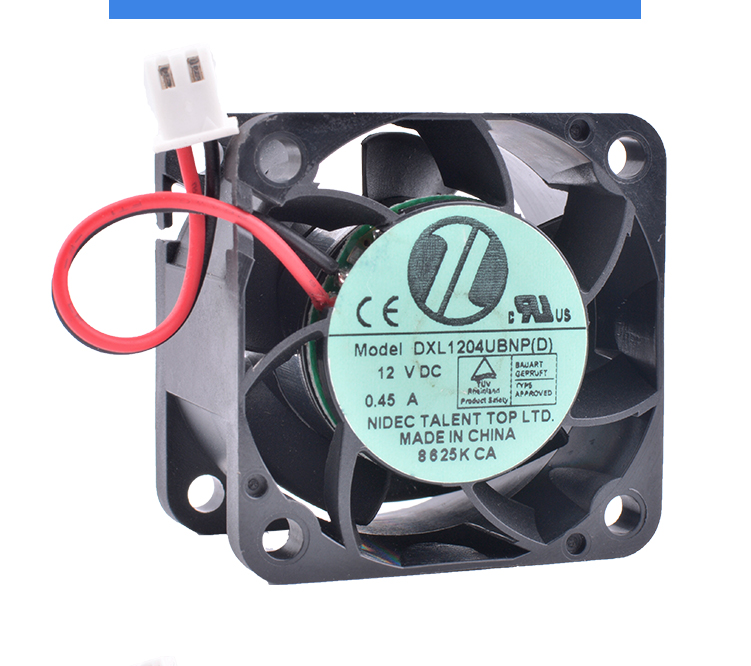 COOLING REVOLUTION DXL1204UBNP(D) 4cm 40mm fan 4028 12V 0.45A Double ball bearing large air volume power supply cooling fan
