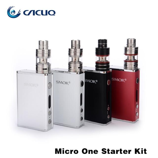 100% Original Smok Micro One Starter Kit 80W 4400mah R80 TC Box Mod Micro TFV4 Tank huge vape  e cigarette kit