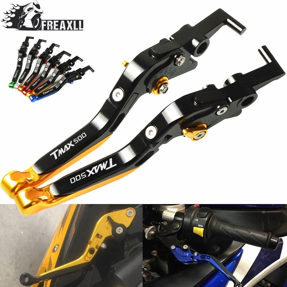 Для Yamaha Tmax 500 2007-2001 TMAX500 2018-2008 складной Выдвижной регулируемый тормоз сцепления рычаги удлинение Мотоцикл Запчасти