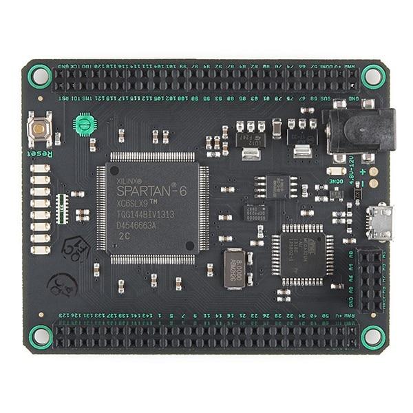 цена на Mojo v3 FPGA Compatible with Arduino FPGA Development Board Spartan6 XC6SLX for Diy