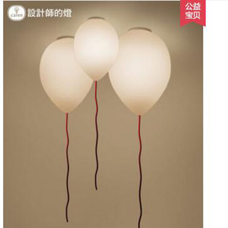 L Bedroom dining room lamp personality creative lighting living room aisle warm childrens room balloon ceiling lamp LED lightsL Bedroom dining room lamp personality creative lighting living room aisle warm childrens room balloon ceiling lamp LED lights